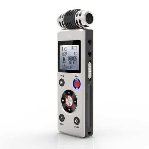 Профессиональный цифровой диктофон 8 ГБ