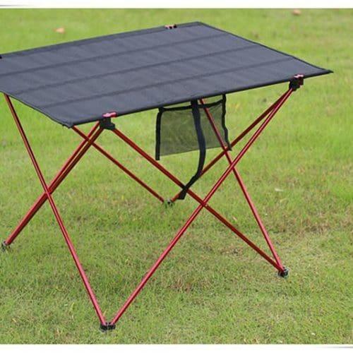 Раскладной туристический портативный легкий алюминиевый стол для пикника