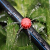Регулируемые разбрызгиватели капельницы для капельного полива теплицы, сада, огорода