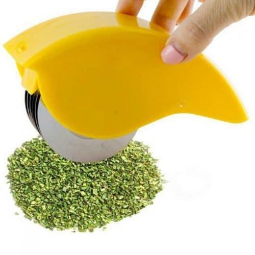 Роликовый нож-слайсер для резки зелени