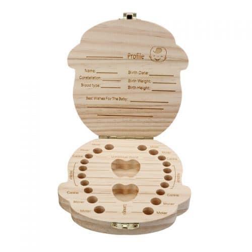 Шкатулка-коробка для молочных зубов детей