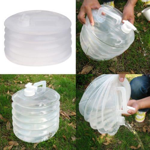 Складная канистра-гармошка для воды на 10 л