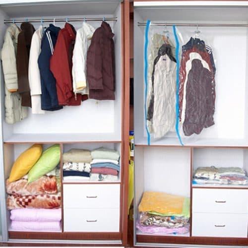 Вакуумные пакеты-мешки для хранения вещей, одежды