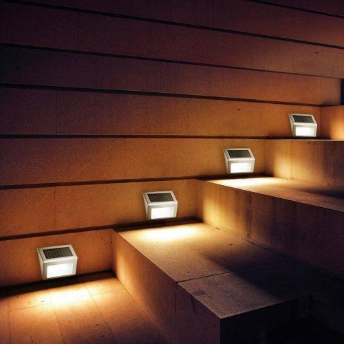 Водонепроницаемые светодиодные панели-фонари-светильники в сад, на участок