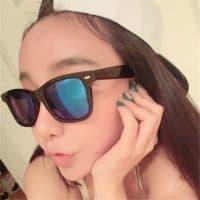 Женские и мужские солнцезащитные зеркальные очки Uv400 из акрила и пластика