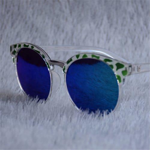 Женские модные солнцезащитные очки Uv400 формы кошачий глаз из пластика