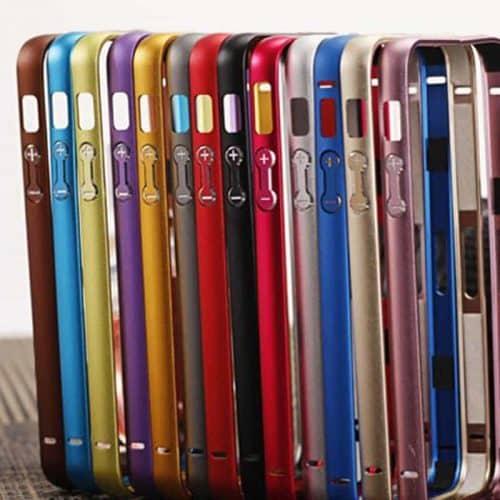 Алюминиевый чехол бампер-рамка на Айфон (iPhone) 5, 5S