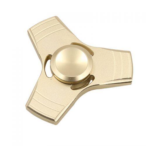 Алюминиевый спиннер hand spinner пальчиковая игрушка-антистресс вертушка для рук