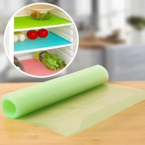 Антибактериальное поглощающее влагу покрытие-коврик на полки холодильника