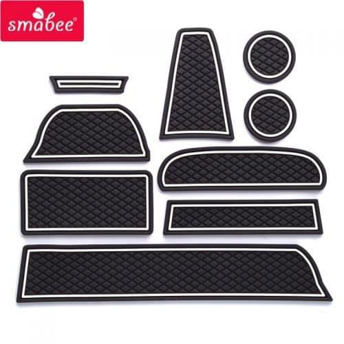 Автомобильные коврики для салона Lada Granta в наборе 9 шт.