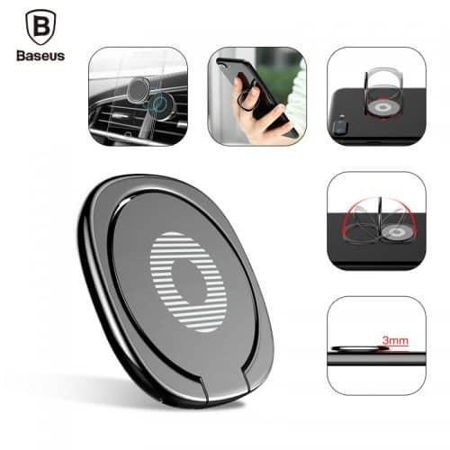 BASEUS Магнитное кольцо-держатель на палец для телефона
