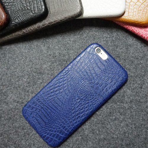 Чехол-бампер под кожу крокодила на айфон (iPhone) 6, 6s