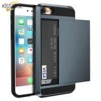 Чехол для iPhone 5/6/7 с отделением для банковских карт
