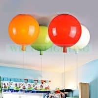 Детский потолочный светильник в виде воздушного шара