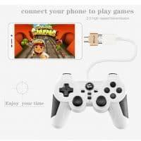Elough Универсальный переходник-адаптер Micro USB OTG на телефон для подключения USB флешки, клавиатуры, мыши, геймпада