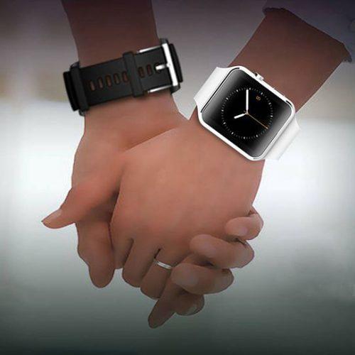 FLOVEME E6 Smart Watch наручные Bluetooth смарт часы с камерой, функцией телефона и мониторинга сна
