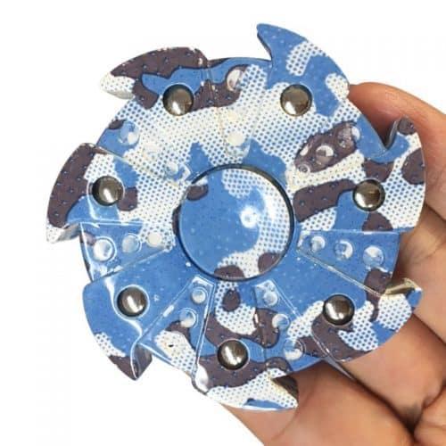 Камуфляжный спиннер с 7 подшипниками hand spinner пальчиковая игрушка-антистресс вертушка для рук
