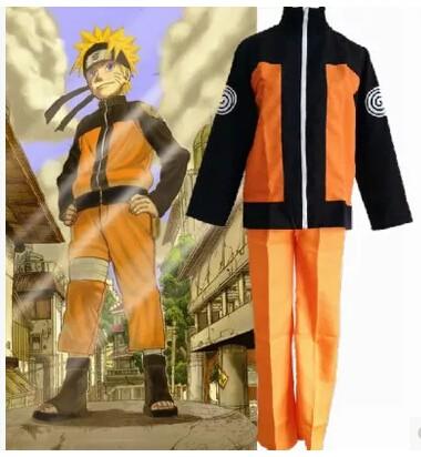 Косплей костюм Наруто Удзумаки из аниме Наруто