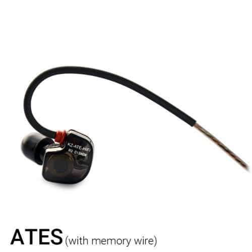 KZ ATE ATR Вакуумные качественные спортивные Hifi наушники-вкладыши-гарнитура 3,5 мм с микрофоном