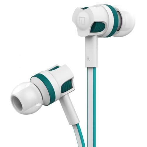 Langsdom JM26 Вакуумные шумоподавляющие качественные наушники-вкладыши-гарнитура с микрофоном 3,5 мм с плоским проводом