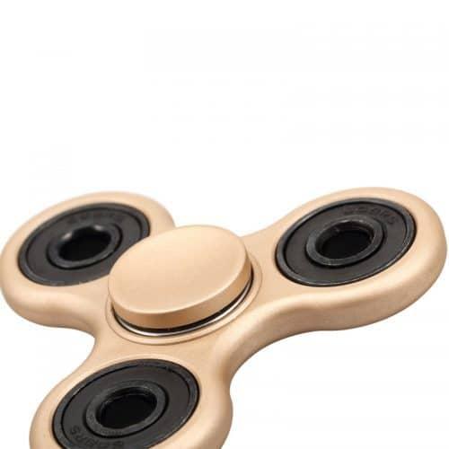 Матовый спиннер hand spinner пальчиковая игрушка-антистресс вертушка для рук