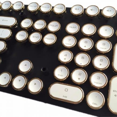 Механическая ретро клавиатура для компьютера