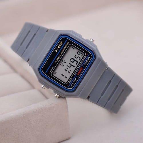 Мужские и женские спортивные наручные кварцевые цифровые часы (реплика Casio)