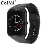 Наручные Bluetooth 3.0 смарт часы Colmi gt08 с шагомером, камерой, функцией телефона и сенсорным экраном