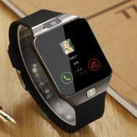 Наручные умные bluetooth часы с камерой Smart Watch dz09