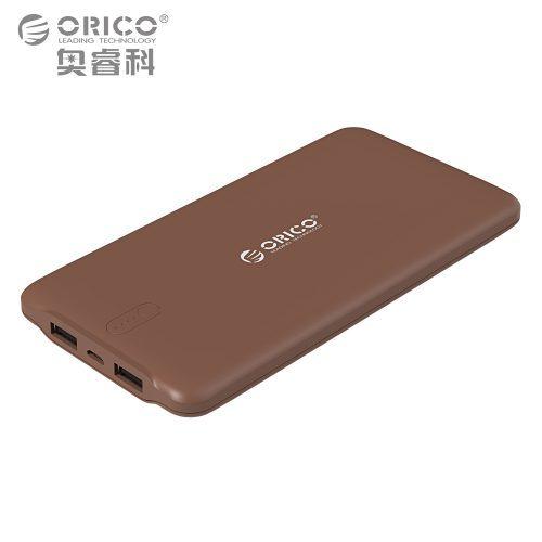 ORICO Power Bank портативное зарядное внешнее устройство на 10000 мАч с двумя usb портами