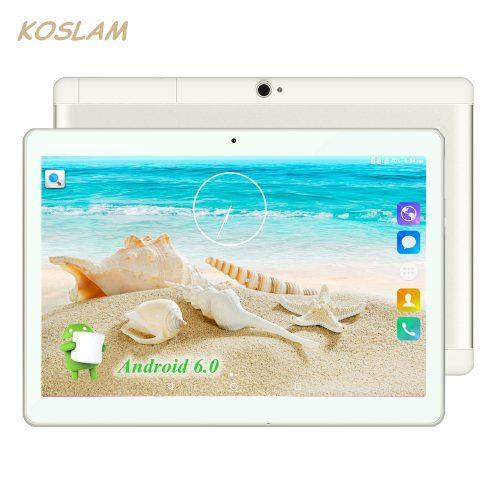 Планшет KOSLAM с двумя сим-картами, со встроенным 3G, 16 ГБ, Android 7.0, 10″, 1280×800