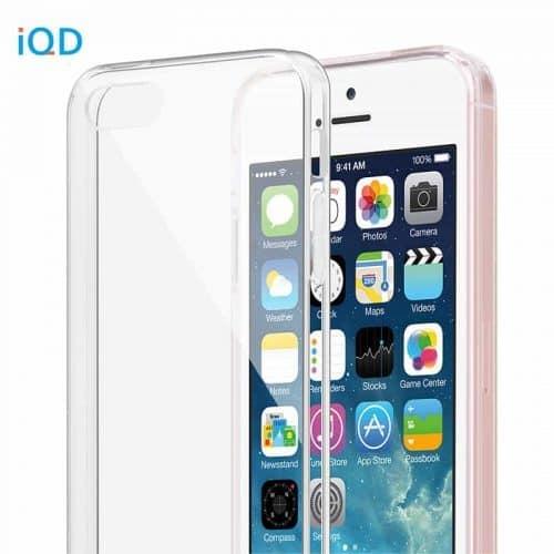 Прозрачный чехол бампер накладка задняя крышка на Айфон (iPhone) 5 5S SE