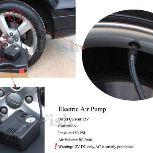 Пуско-зарядное устройство Jumpstarter 68000 мАч + Компрессор 12 В для автомобиля