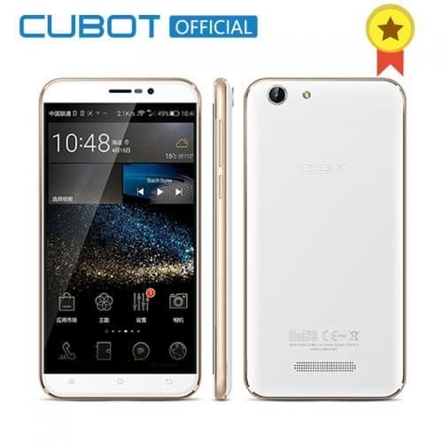 Смартфон Cubot Note S MTK6580 5.5″ 2 Gb 16 Gb 4150 mAh Black/White/Gold