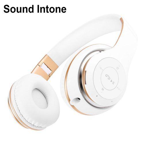 Sound Intone BT-09 Беспроводные качественные стильные складные Bluetooth стерео наушники-гарнитура с микрофоном с поддержкой карт памяти