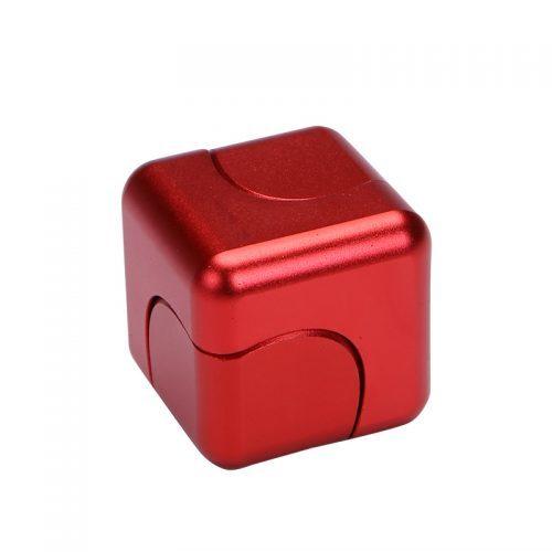 Спиннер-куб hand spinner cube пальчиковая игрушка-антистресс на подшипнике для рук