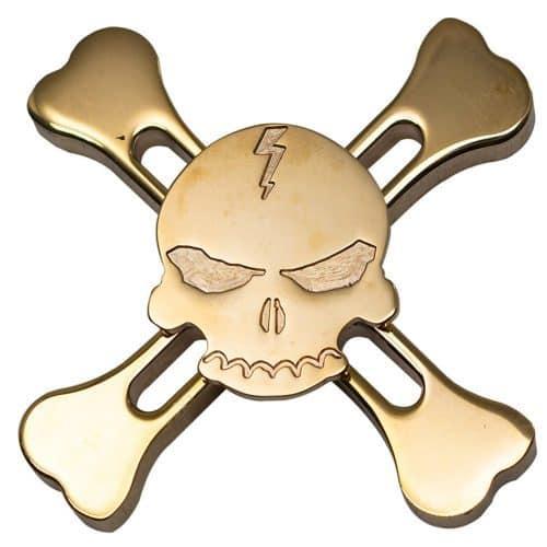 Спиннер в форме черепа hand spinner пальчиковая игрушка-антистресс вертушка для рук