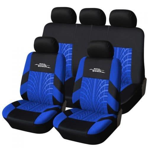 Универсальные тканевые чехлы на автомобильные сидения