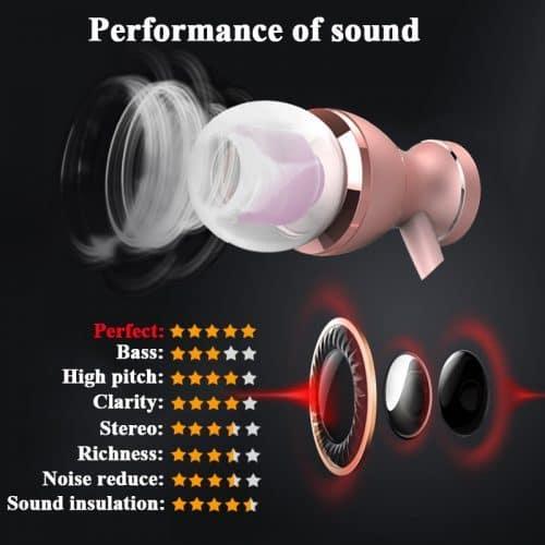 Вакуумные магнитные шумоподавляющие качественные стильные наушники-вкладыши-гарнитура с микрофоном 3,5 мм с регулятором громкости