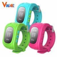 Vwar Q50 GPS Smart Kid Safe Детские смарт часы с gps трекером