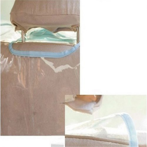 Защитная прозрачная пленка-накидка на передние сиденья автомобиля