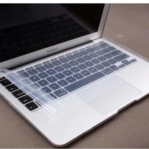 Защитная силиконовая водонепроницаемая пленка для клавиатуры ноутбука