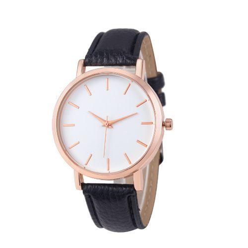 Женские наручные кварцевые повседневные минималистичные часы с аналоговым дисплеем