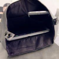 Женский небольшой рюкзак на 20 л из искусственной кожи с потайным карманом на спине