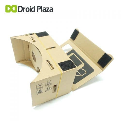 3D VR картонные очки виртуальной реальности Google Cardboard