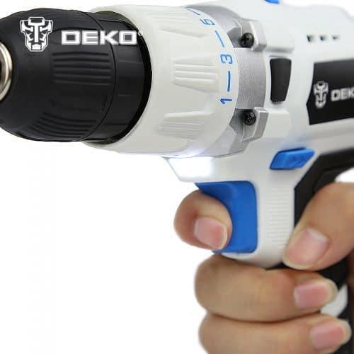 Deko GCD18DU3 ударный шуруповерт-дрель