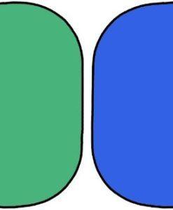 Двухсторонний складной хромакей + сумка для переноски