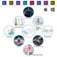 Топ 12 самых популярных графических планшетов для рисования на Алиэкспресс - место 3 - фото 2