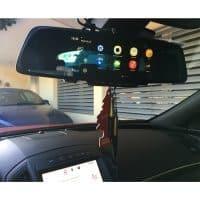Junsun 6.86″ автомобильный Wi-Fi видеорегистратор-камера ночного видения зеркало заднего вида Full HD 1080 P