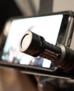 Конденсаторный микрофон Rode VideoMic Me для iphone